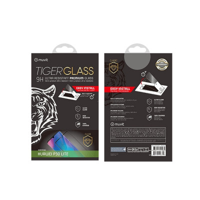 MUVIT TIGER FULL FACE TEMPERED GLASS HUAWEI MATE 30 LITE