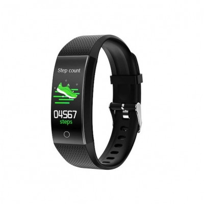 Ksix FITNESS BAND HR THERMOMETER FOR SMARTPHONES black