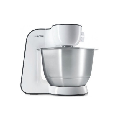 Bosch MUM54A00 Κουζινομηχανή 900W με Ανοξείδωτο Κάδο 3.9lt