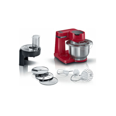 Bosch MUMS2ER01 Κουζινομηχανή 700W με Ανοξείδωτο Κάδο 3.8lt