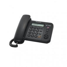 Ενσύρματο Τηλέφωνο Panasonic KX-TS580 Μαύρο