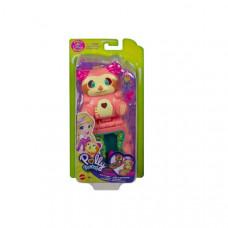 Mattel Polly Pocket: Flip & Find - Sloth (GTM59)