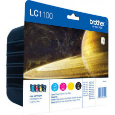 Brother LC-1100 Value Pack BK/C/M/Y