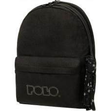 Polo Original Double Scarf Σακίδιο Πλάτης Μαύρο 2021 (901235-2000)