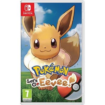 Pokemon Lets Go, Eevee! Switch