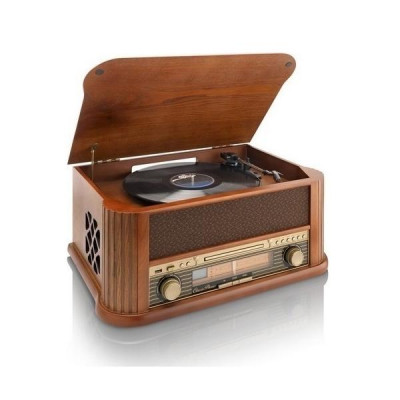 Lenco TCD-2500 Wooden Stereo System
