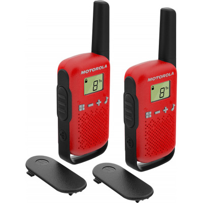 Motorola Talkabout T42 Twin Pack Black/Red