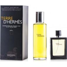 Hermes Terre DHermes Pure Perfume 30ml & Terre DHermes Pure Perfume 125 ml Refill - Original