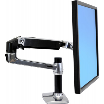 Ergotron LX Desk Mount LCD Monitor Arm Silver