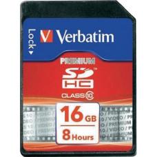 Verbatim Premium SDHC 16GB Class 10