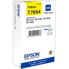 Epson DURABrite Ultra Ink XXL ink cartridge yellow T 7894