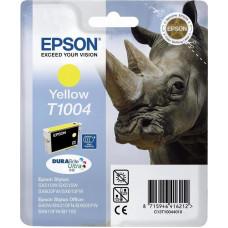 Epson DURABrite Ultra Ink T 100 ink cartridge yellow      T 1004