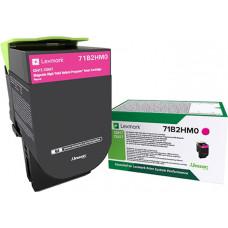 Lexmark Magenta Toner High Capacity Return (71B2HM0)
