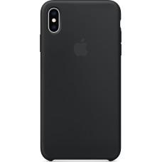 Apple Silicone Case Black (iPhone XS Max)