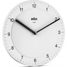 Braun BC 06 W Quartz Wall Clock Analog White