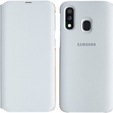 Samsung Wallet Cover Λευκό (Galaxy A40)