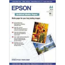 Epson Archival Matte Paper A 4, 50 Sheet, 189 g    S 041342