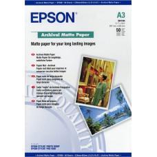 Epson Archival Matte Paper A 3, 50 Sheet, 189 g    S 041344
