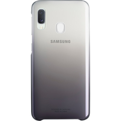 Samsung Gradation Cover Μαύρο (Galaxy A20e)