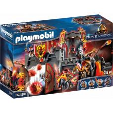 Playmobil Novel More: Fortress Fire Rock