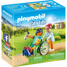 Playmobil City Life: Patient in Wheelchair