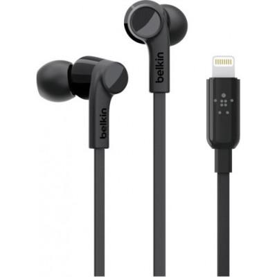Belkin Rockstar In-Ear Kopfhörer Lightning Black   G3H0001btBLK
