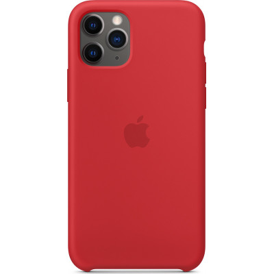 Apple iPhone 11 Pro Silicone Case (PRODUCT)RED