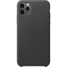 Apple iPhone 11 Pro Max Leather Case Black     MX0E2ZM/A