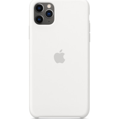 Apple iPhone 11 Pro Max Silicone Case White    MWYX2ZM/A