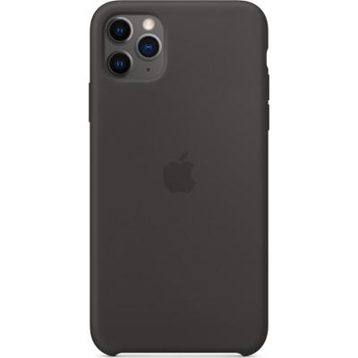 Apple iPhone 11 Pro Max Silicone Case Black    MX002ZM/A