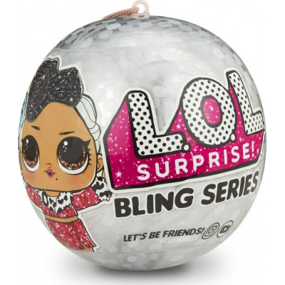 Giochi Preziosi Lol Surprise: Κουκλα Bling Ass (LLU40000)