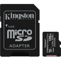 Kingston Canvas Select Plus microSDXC 128GB U1 V10 A1 with Adapter