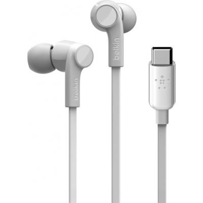 Belkin Rockstar In-Ear Kopfhörer USB-C Connector ws. G3H0002btWHT