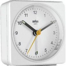 Braun BC 03 W Quartz Alarm Clock Analog White