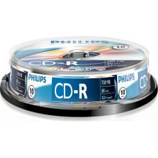 1x10 Philips CD-R 80Min 700MB 52x SP