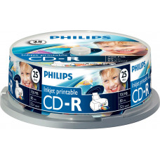 1x25 Philips CD-R 80Min 700MB 52x IW SP