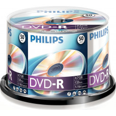 1x50 Philips DVD-R 4,7GB 16x SP