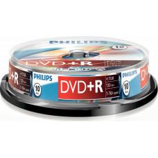 1x10 Philips DVD+R 4,7GB 16x SP