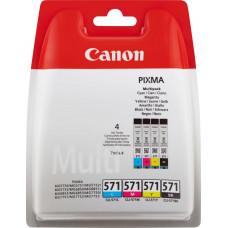 Canon CLI-571 C/M/Y/BK Multipack (0386C005)