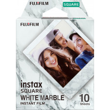 1 Fujifilm instax Square Film white marble
