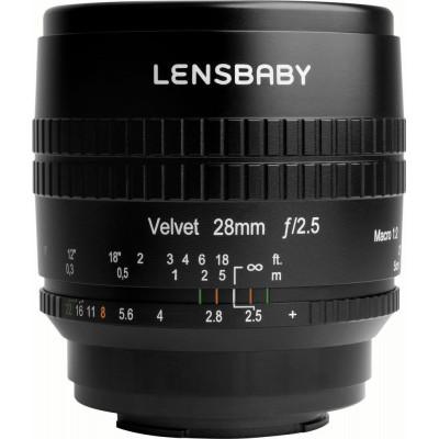 Lensbaby Velvet 28 MFT