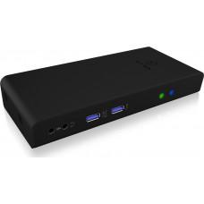 RaidSonic Icy Box Multi-DockingStation for Notebooks and PCs Black
