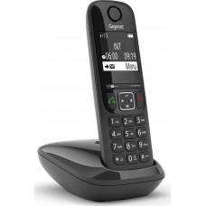 Gigaset AS690 Ασύρματο Τηλέφωνο με ανοιχτή ακρόαση Μαύρο