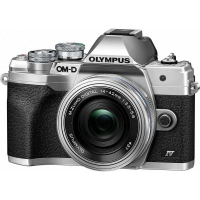 Olympus OM-D E-M10 Mark IV Kit (M.Zuiko 14-42mm EZ Pancake) Silver