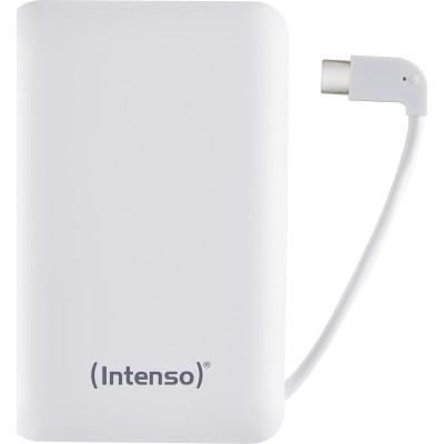 Intenso Powerbank XC10000 white +USB-A zu Type-C Kabel 10000 mAh