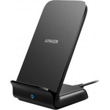 Anker Wireless Charging Pad (Qi) Μαύρο (Powerwave+ Stand)