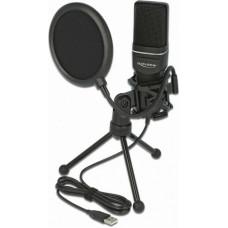 DeLock USB Condenser Microphone Set