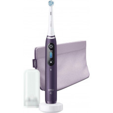 Oral-B iO Series 8 Ηλεκτρική Οδοντόβουρτσα Violet Ametrine with Travel Case