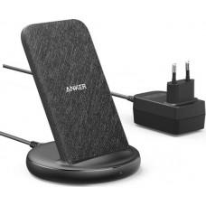 Anker Wireless Charging Pad (Qi) Μαύρο (Powerwave II Stand)