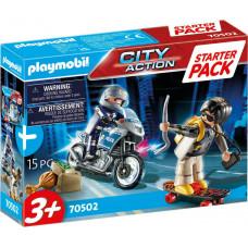 Playmobil City Action: Starter Pack Αστυνομική Καταδίωξη